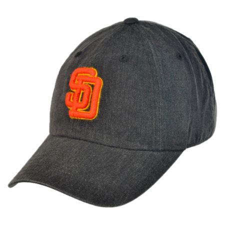 American Needle San Diego Padres MLB Raglan Strapback Baseball Cap