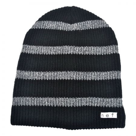 Neff Daily Stripe Sparkle Beanie Hat
