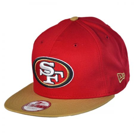 New Era San Francisco 49ers NFL 9Fifty Snapback Baseball Cap