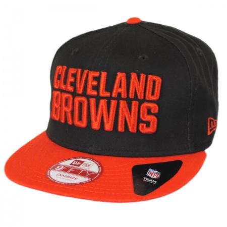 new arrival fa2e4 9d997 New Era Cleveland Browns NFL 9Fifty Snapback Baseball Cap