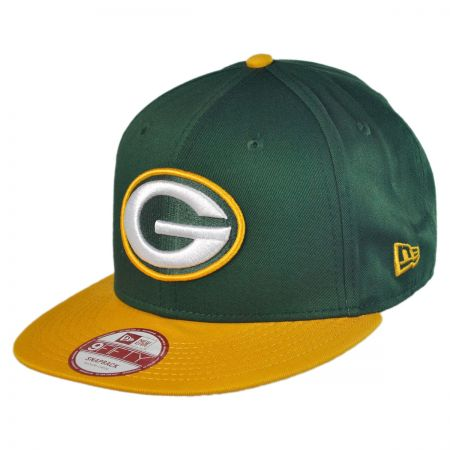 New Era Green Bay Packers NFL 9Fifty Snapback Baseball Cap