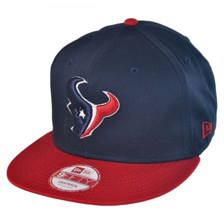 New Era Houston Texans NFL 9Fifty Snapback Baseball Cap