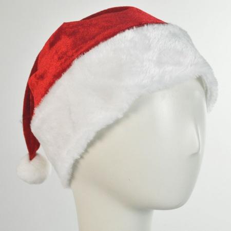 B2B Velvet Santa Hats