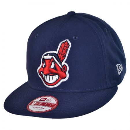 New Era Cleveland Indians MLB 9Fifty Snapback Baseball Cap