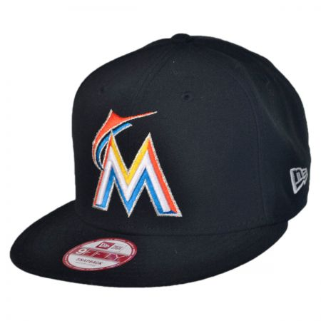 New Era Miami Marlins MLB 9Fifty Snapback Baseball Cap