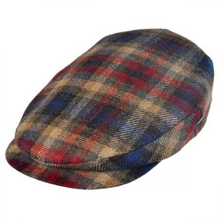 City Sport Caps Cashmere Wool Plaid Ivy Cap