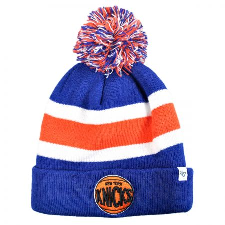 47 Brand New York Knicks NBA Breakaway Knit Beanie Cap