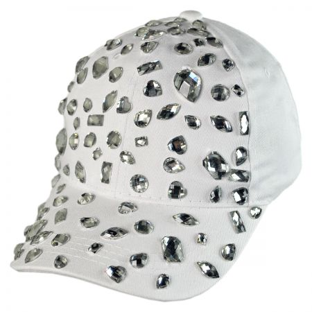 Something Special Rhinestone Adjustable Baseball Cap