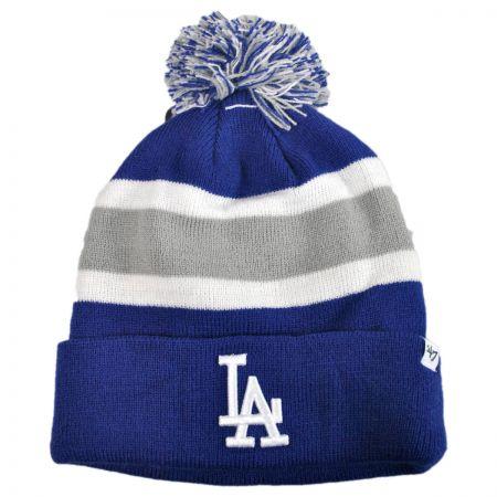 47 Brand Los Angeles Dodgers MLB Breakaway Knit Beanie Hat