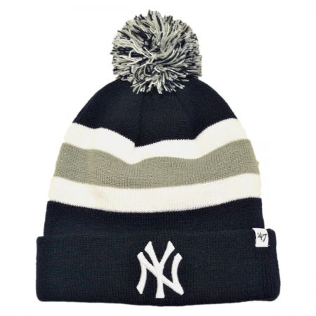 47 Brand New York Yankees MLB Breakaway Knit Beanie Cap