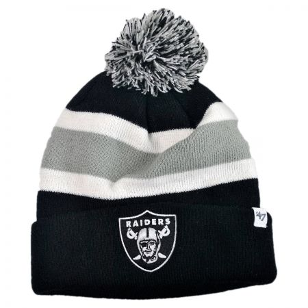 47 Brand Oakland Raiders NFL Breakaway Knit Beanie Hat