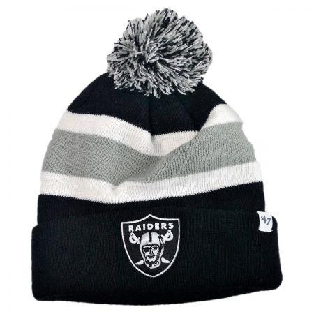 47 Brand Oakland Raiders NFL Breakaway Knit Beanie Cap