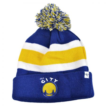 47 Brand - Golden State Warriors NBA Breakaway Knit Beanie Cap