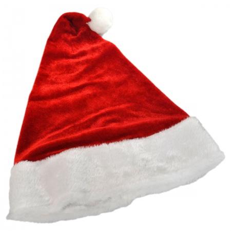 Jacobson Velvet Santa Hat