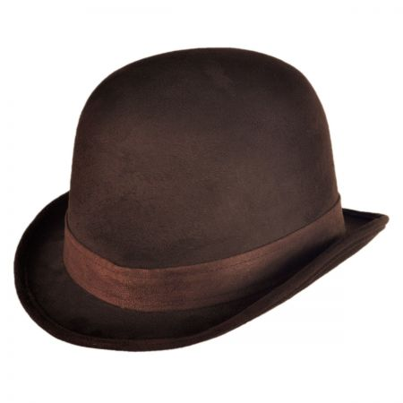 Brown Bowler at Village Hat Shop 249d9fef1f1