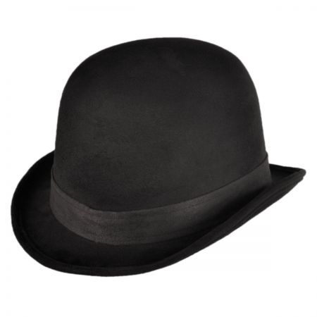 Black Bowler Hat at Village Hat Shop b568683e2f0