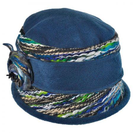 Jeanne Simmons Fleece Cloche Hat
