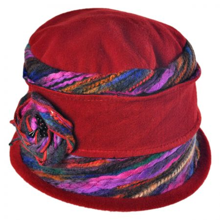 Jeanne Simmons Fleece Cloche Hat