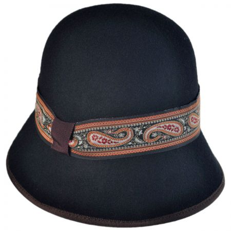 Jeanne Simmons Paisley Cloche Hat