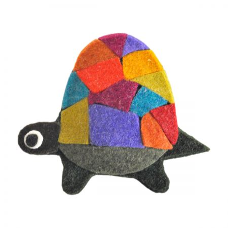 Jeanne Simmons Felt Turtle Clip Pin Accessory