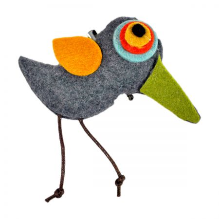Jeanne Simmons Felt Bird Clip Pin Accessory