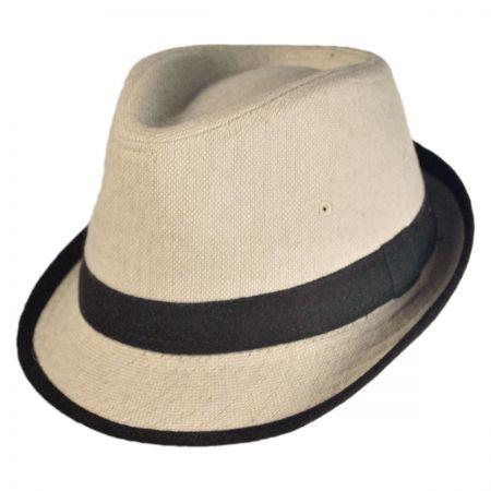 Kid's Tweed Fabric Fedora Hat alternate view 1