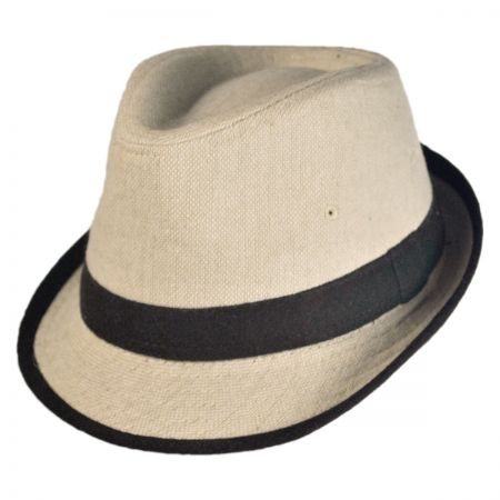 Jeanne Simmons Kid's Tweed Fabric Fedora Hat