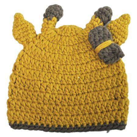 Jeanne Simmons Giraffe Infant's Beanie Hat