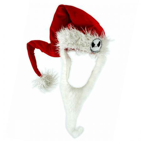 Disney Jack Skellington Bearded Santa Hat