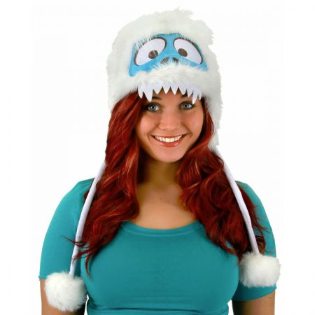 Elope Bumble Abominable Snowman Peruvian Hoodie Hat