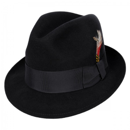 Blues Brothers Trilby Fedora Hat alternate view 3