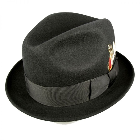 Golden Gate Hat Company Blues Brothers Trilby Fedora Hat