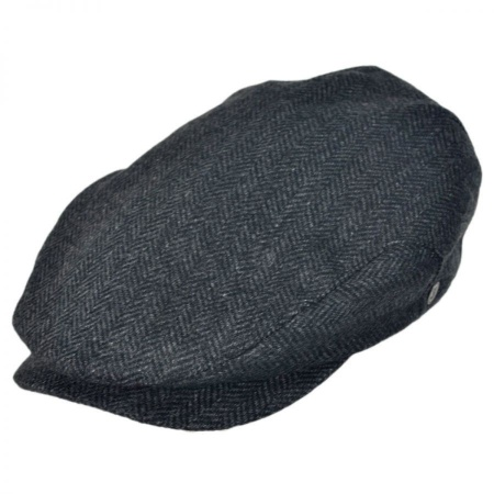 B2B Jaxon Square Bill Herringbone Wool Ivy Cap