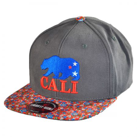 American Needle Cali Garden Flatbill Baseball Cap