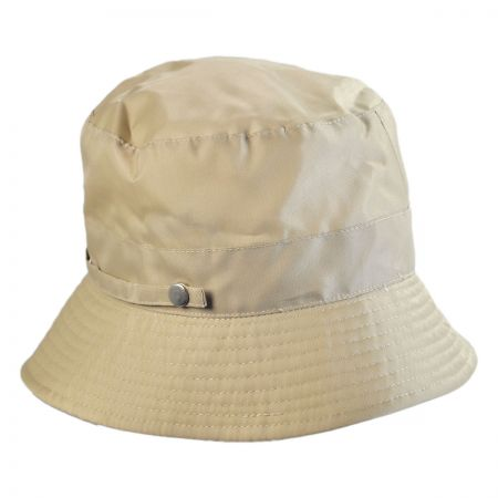 Rollable Poly Rain Bucket Hat