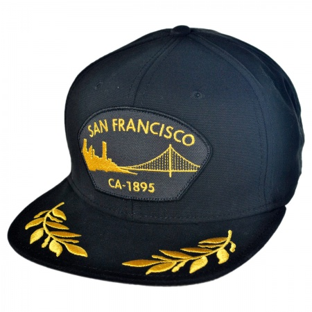 Goorin Bros SF Tug Boat Snapback Baseball Cap