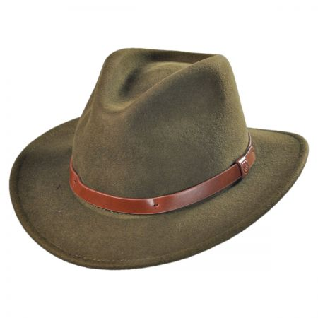 Messer Wool Felt Fedora Hat alternate view 10