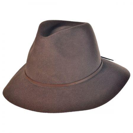 Wesley Wide Brim Fedora Hat