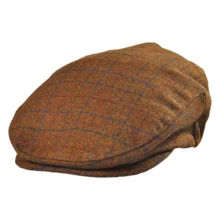 Brixton Hats Barrel Plaid Ivy Cap