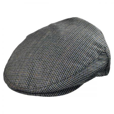 Brixton Hats Hooligan Houndstooth Tweed Ivy Cap