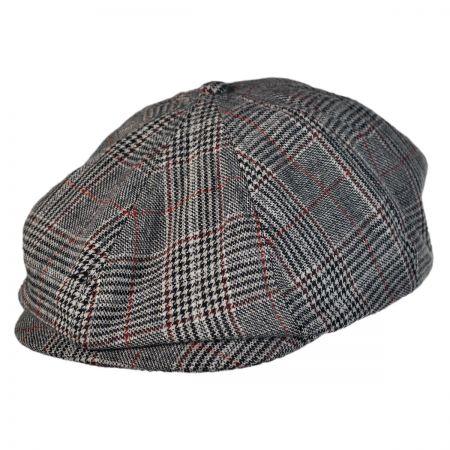 Brood Plaid Newsboy Cap
