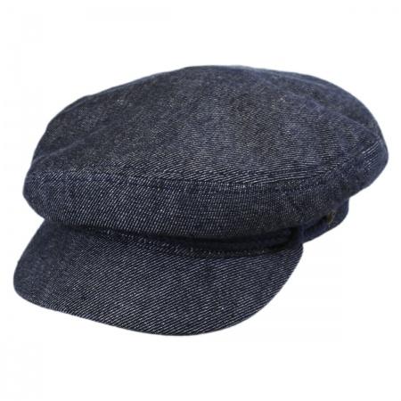 Brixton Hats Cotton and Linen Fiddler Cap