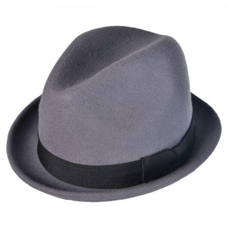 Goorin Bros Sand Cassel Kid's Syris Wool Felt Fedora Hat