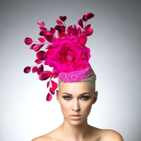 Arturo Rios Collection Hillary Fascinator Hat