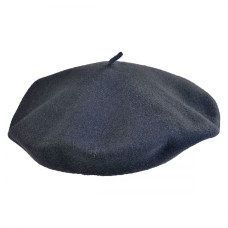 Jaxon Hats Shallow Fit Wool Basque Beret