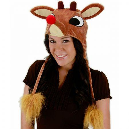 Elope Rudolph Peruvian Hoodie Hat