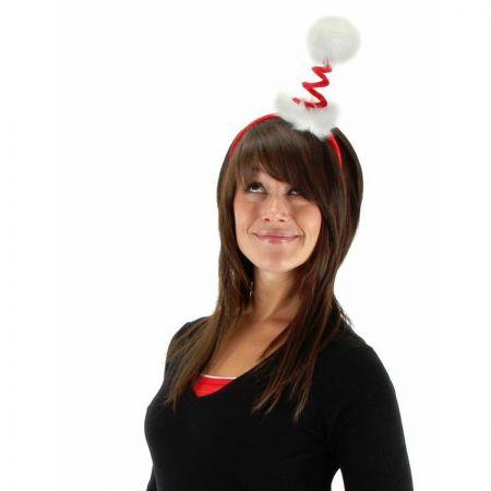 Elope Springy Santa Fascinator Headband