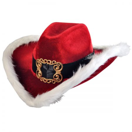 Elope Christmas Cowboy Hat