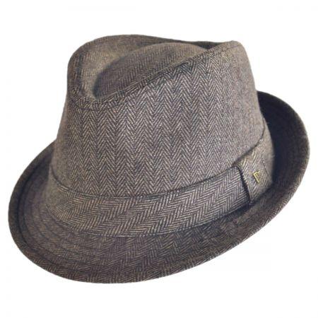 EK Collection by New Era Ollie Herringbone Fedora Hat