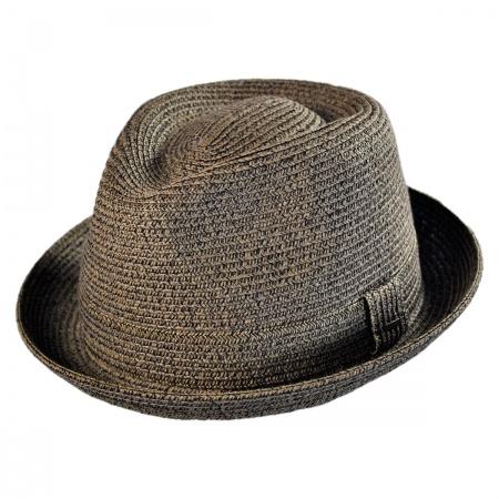 Billy Toyo Straw Braid Fedora Hat alternate view 43
